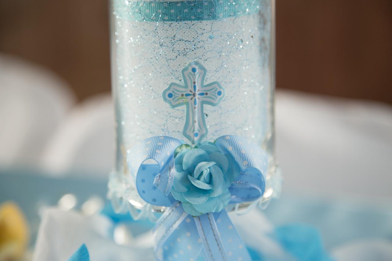 Świeca na chrzest